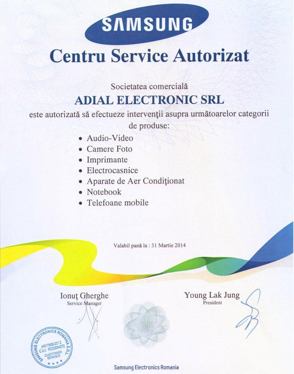 Service Samsung Autorizat